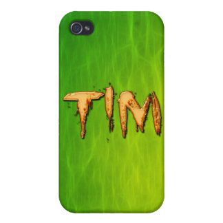 Tim Name Branded iPhone Cover
