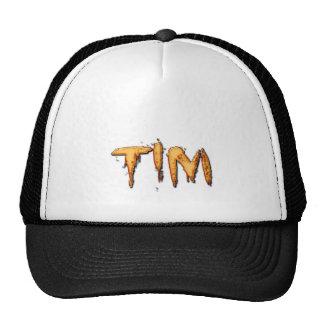 TIM Name Branded Personalised Gift Hat