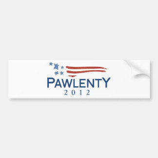 Tim Pawlenty 2012 Pegatina De Parachoque