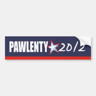 Tim Pawlenty 2012 Etiqueta De Parachoque