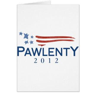 Tim Pawlenty 2012 Card