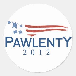Tim Pawlenty 2012 Classic Round Sticker