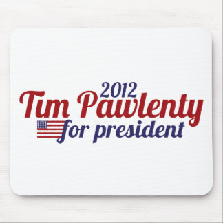 Tim pawlenty 2012 mouse pad