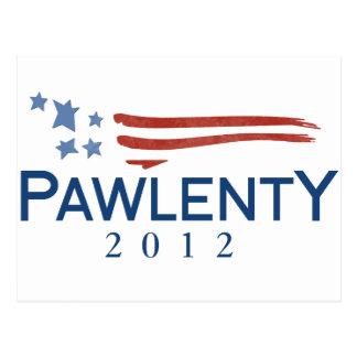 Tim Pawlenty 2012 Postcard
