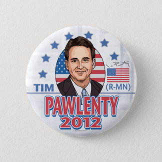 Tim Pawlenty 2012 Shirt Button