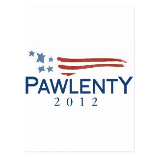 Tim Pawlenty 2012 Tarjeta Postal