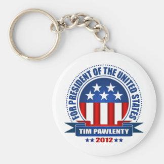Tim Pawlenty Basic Round Button Keychain