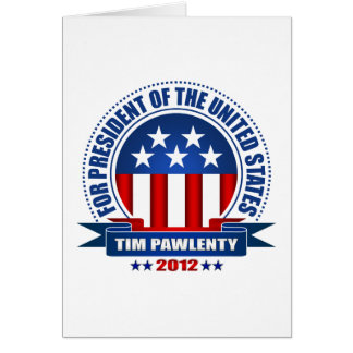 Tim Pawlenty Card