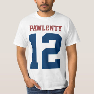 Tim Pawlenty for President 2012 (front and back) T-shirt
