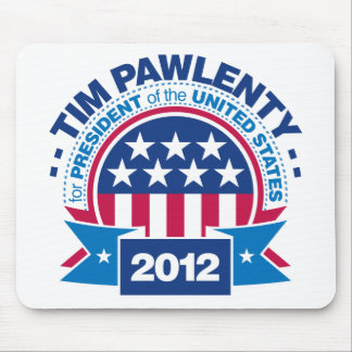 Tim Pawlenty for President 2012 Mouse Pad