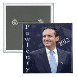 Tim Pawlenty for President 2012 Pinback Buttons
