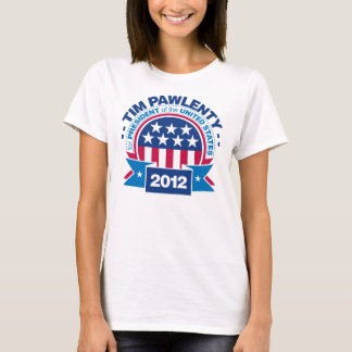 Tim Pawlenty for President 2012 T-Shirt