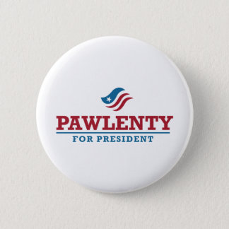 Tim Pawlenty for President Pinback Button