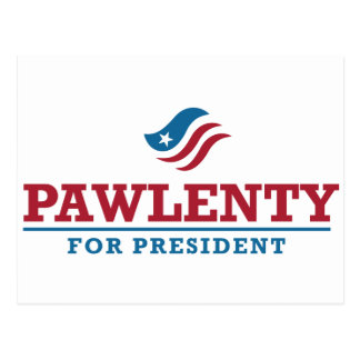 Tim Pawlenty for President Postcard