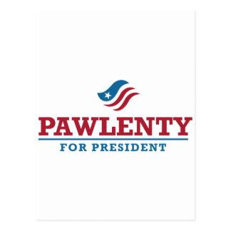 Tim Pawlenty for President Postcard