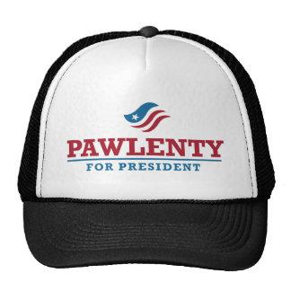 Tim Pawlenty para el presidente Gorros