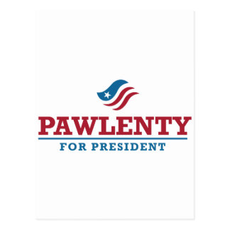 Tim Pawlenty para el presidente Postales
