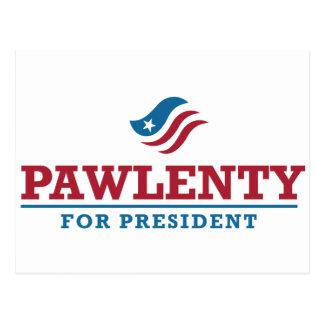 Tim Pawlenty para el presidente Postal