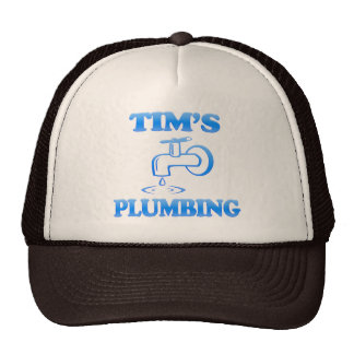 Tim s Plumbing Trucker Hats