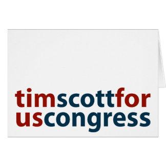 Tim Scott for U.S. Congress Card