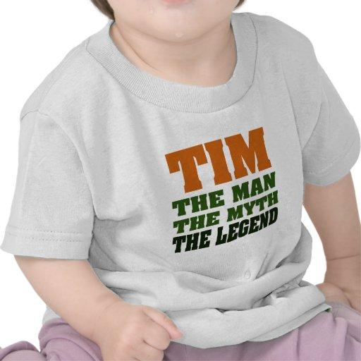 TIM - the Man, the Myth, the Legend T-shirt