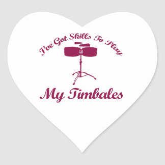 timbales.png heart sticker