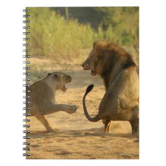 Timbavati River, Kruger National Park, Limpopo Spiral Notebooks