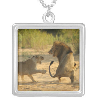 Timbavati River, Kruger National Park, Limpopo Silver Plated Necklace