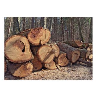 Timber Business card