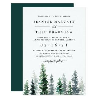 Timber Grove | Wedding Invitation