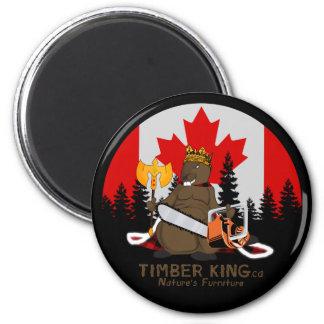 Timber King Log and Stone Furniture Magnet