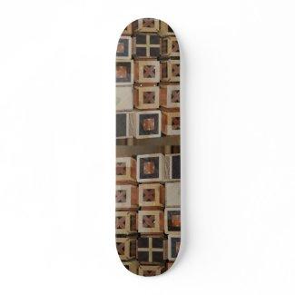 Timber on timber skateboard