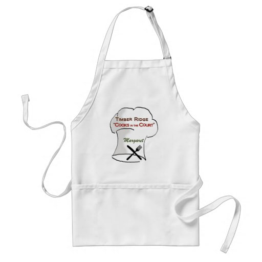 Timber Ridge Cooks in the Court - Margaret Apron