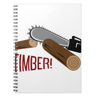 Timber Spiral Notebook