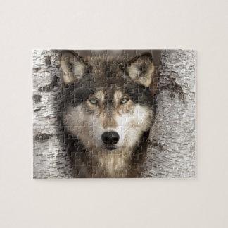 Timber wolf by Jim Zuckerman Jigsaw Puzzle