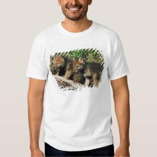 Timber wolf cubs t shirt