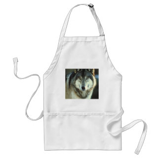Timber-Wolf from JungleWalk.com Adult Apron