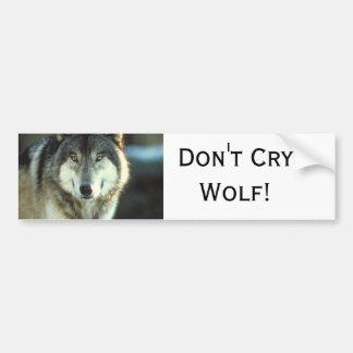 Timber-Wolf from JungleWalk.com Bumper Sticker
