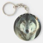 Timber-Wolf from JungleWalk.com Keychain