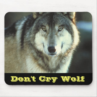 Timber-Wolf from JungleWalk.com Mouse Pad