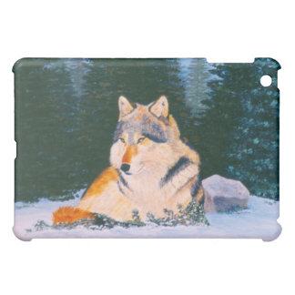 Timber Wolf IPad Case