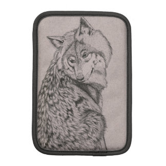 Timber Wolf iPad Mini Vertical Sleeve iPad Mini Sleeve