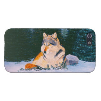 Timber Wolf IPhone 4 Case
