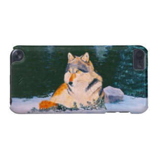 Timber Wolf IPod Touch Case