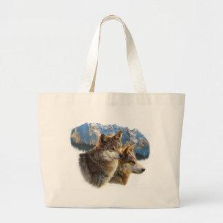 timber wolf.jpg canvas bag