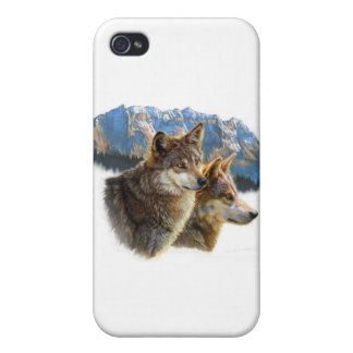 timber wolf.jpg iPhone 4/4S covers