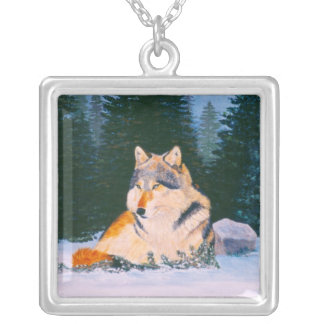Timber Wolf Necklace