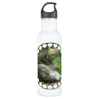 Timber Wolf 24oz Water Bottle