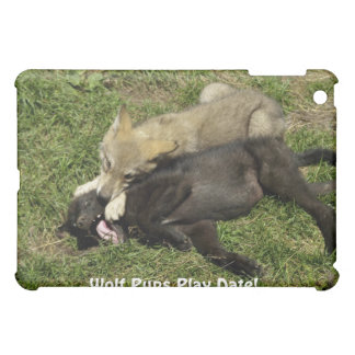 Timber Wolf Pups Wild Animal Speck Case Cover For The iPad Mini