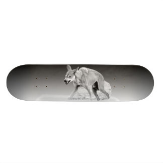 Timber Wolf Snarl Skateboard